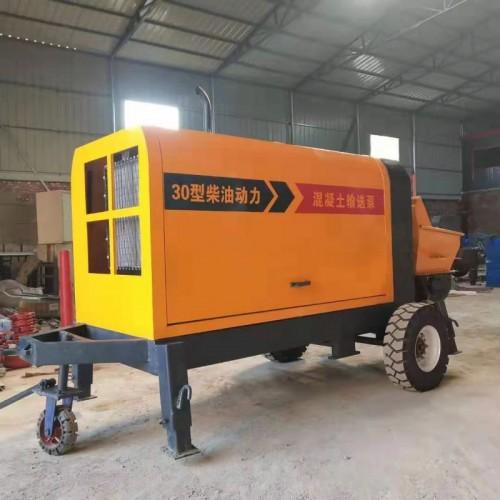 混泥土输送泵二次构造柱输泵小型地泵