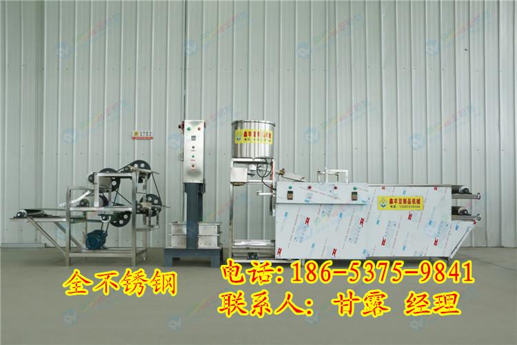 漯河豆腐皮机百叶机 豆腐皮机操作方法 鑫丰豆腐皮机生产线