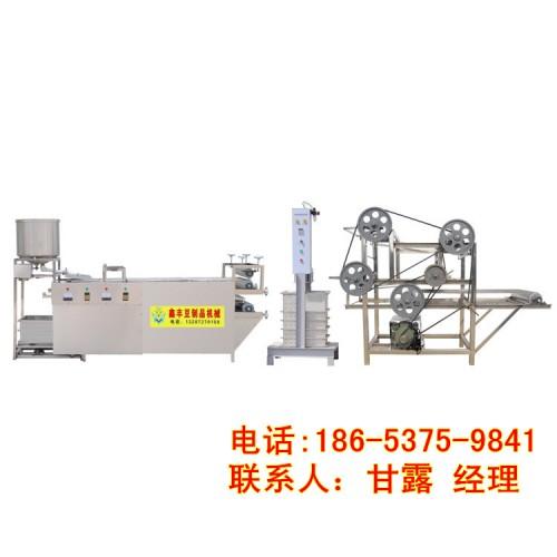 安徽豆腐皮机器的价格 豆腐皮机器操作视频 鑫丰豆腐皮机生产线