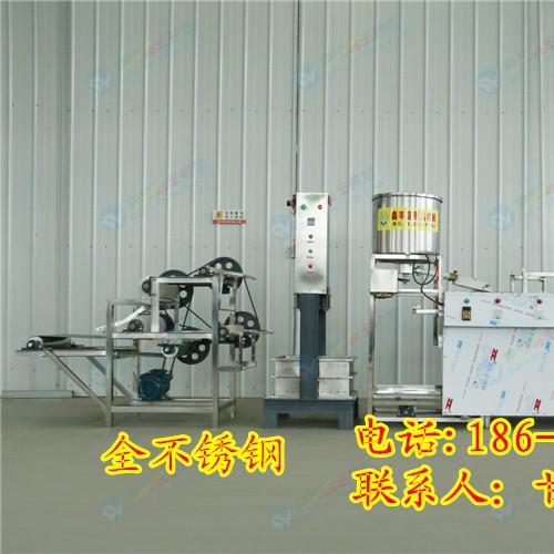 浙江豆腐皮机器千张机 豆腐皮机操作简单 鑫丰豆腐皮机生产视频