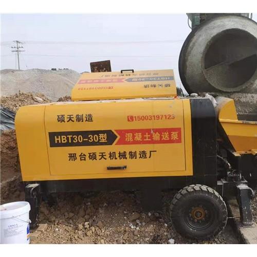 河北硕天30型大颗粒混凝土输送泵价格优惠厂家直销
