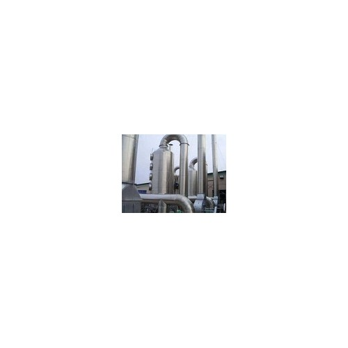 内蒙古有机废气喷淋塔安装「绿雅环保」厂家直供_质量可靠