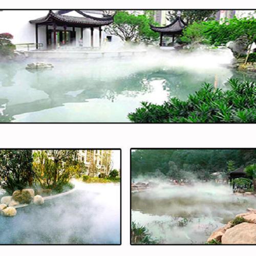 桂林不锈钢冷雾雾森设备 高压造雾机组-永创嘉辉