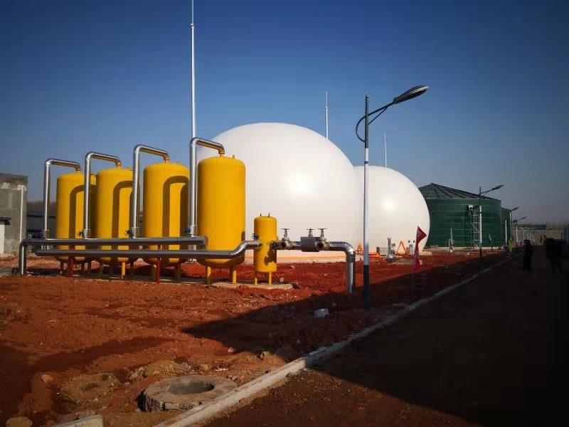 沼气工程、环保工程用双膜气柜
