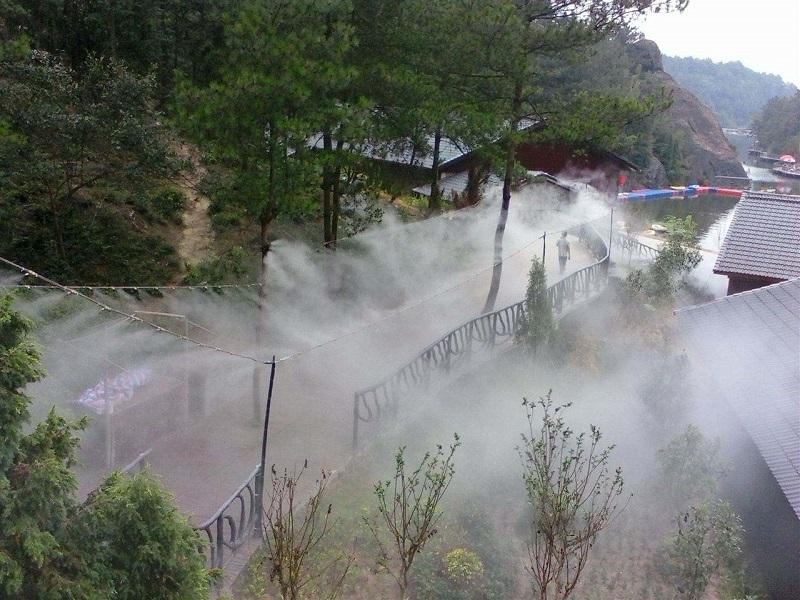 贵港人造雾设备 售楼部造雾造景喷雾系统-永创嘉辉