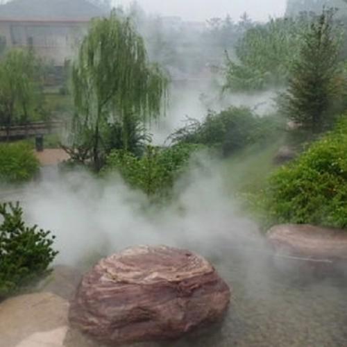 防城港道路雾化除尘加湿降尘造雾机 喷雾系统-永创嘉辉
