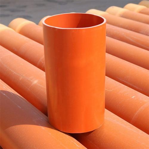 CPVC电力管生产厂家 160高压埋地电力护套电缆管材