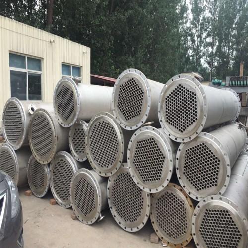 现货出售二手水凉式冷凝器 二手套管式冷凝器 二手石墨冷凝器