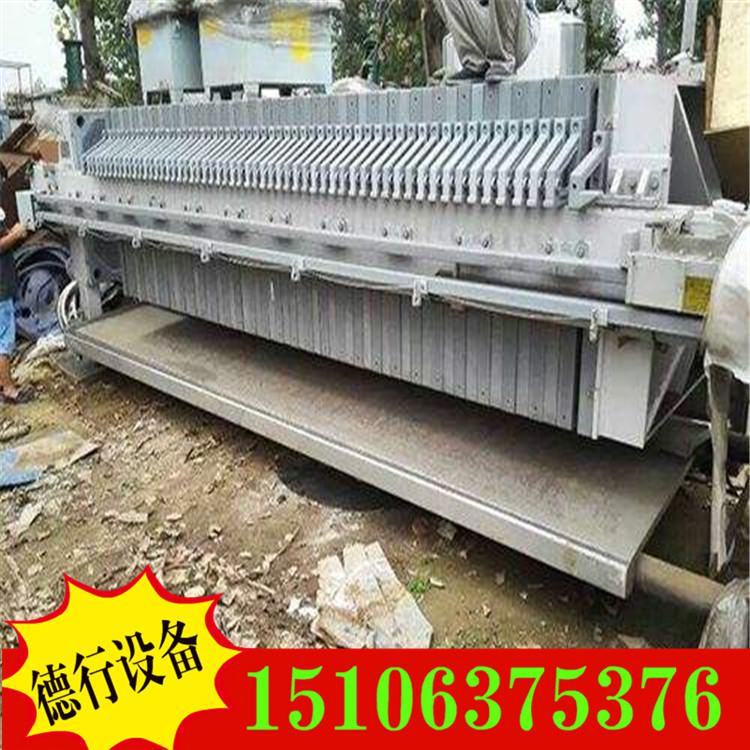 出售闲置二手污泥压滤机 二手自动厢式压滤机 二手带式压滤机