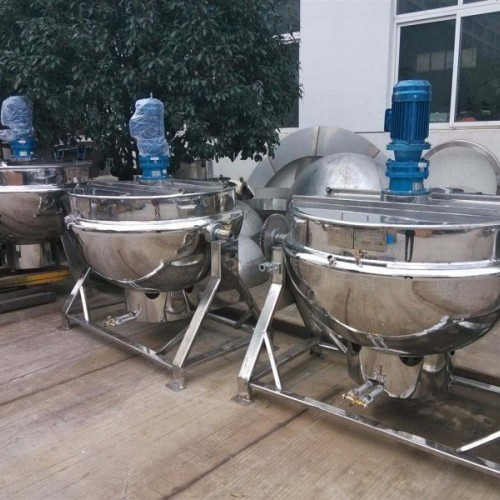 现货出售二手 不锈钢夹层锅 二手多功能电加热夹层锅