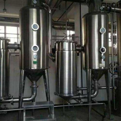 低价处理二手三效外循环蒸发器 二手三效降膜蒸发器