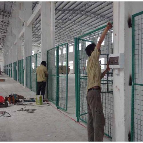 厂家现货供应仓库隔离栅 车间隔离网 支持定做车间隔离护栏网