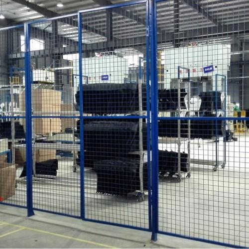 车间隔离框网 仓储分隔类围栏网 加工厂隔断护栏网定制