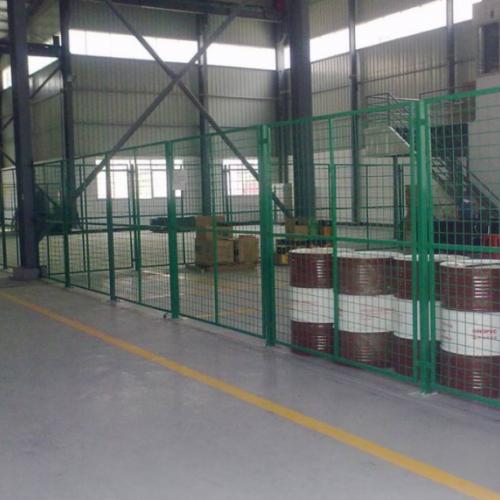 车间隔离网现货供应 工业厂房护栏网 车间隔离仓库隔断网