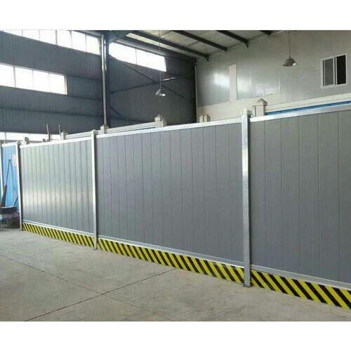 施工挡板护栏围栏工地市政保护地铁建筑工程围墙PVC彩钢夹心