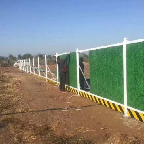 厂家供应绿色封闭式PVC护栏 道路施工围栏地铁建筑施工围挡