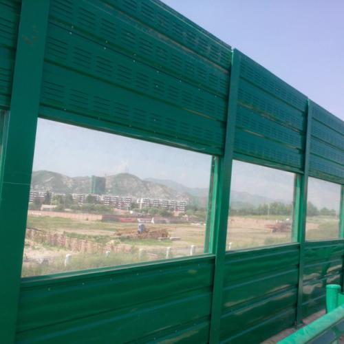 金属铁路声屏障优质厂家 公路两侧吸音降噪隔音墙