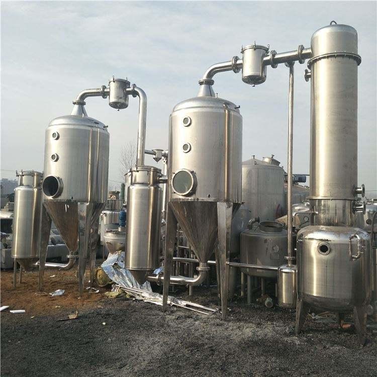 低价处理二手强制循环蒸发器 二手薄膜蒸发器