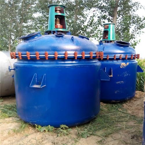 低价处理二手机械密封反应釜 二手导热油加热反应釜