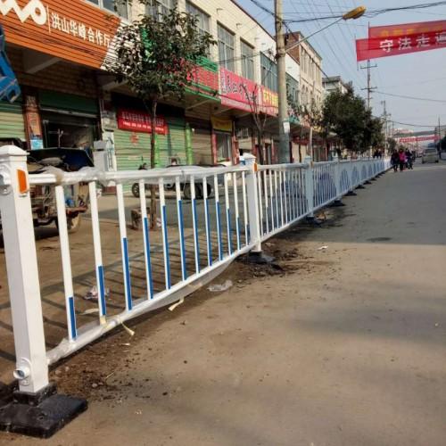 直销 U型折弯道路 京式护栏 圆管焊接 京式栅栏交通隔离护栏