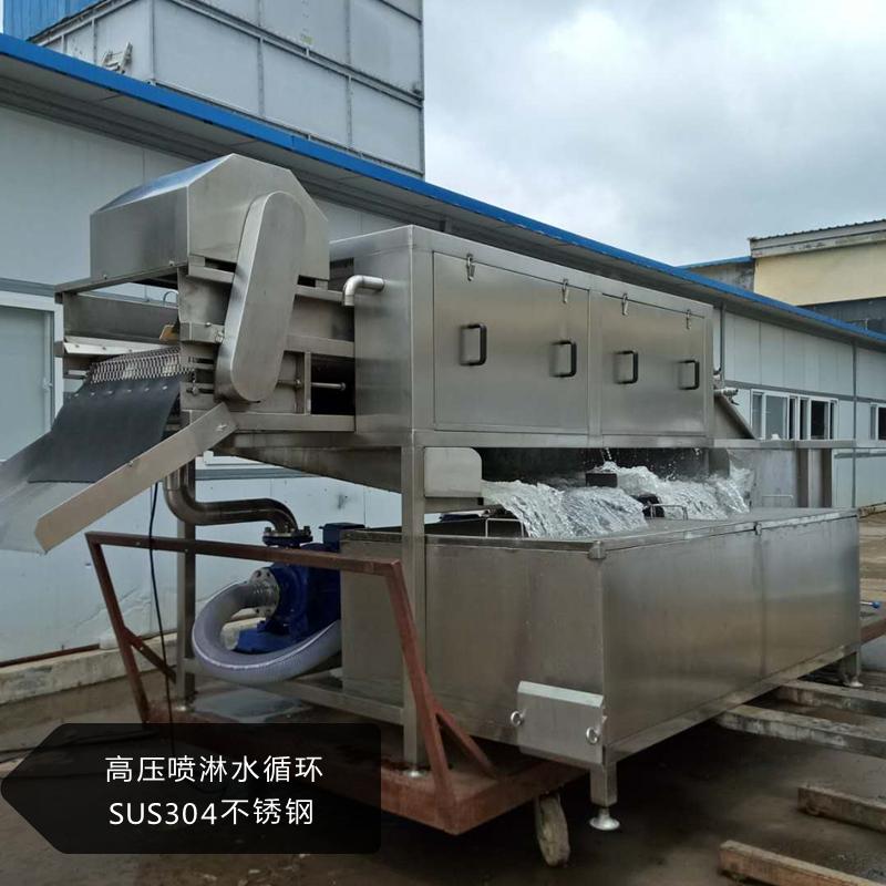 XJ-6000型通过式洗姜机 鲜姜去泥沙洗姜机