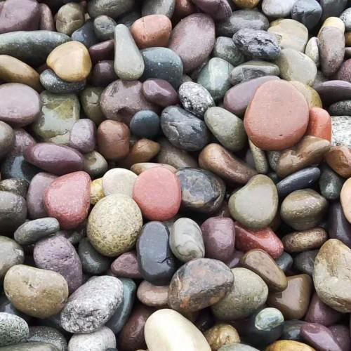 小彩色鹅卵石批发彩色鹅卵石厂家