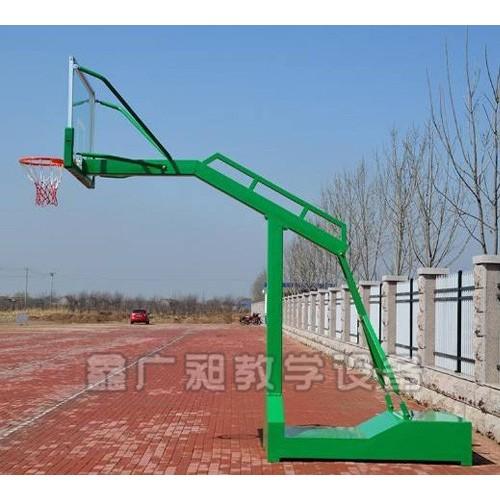 重庆篮球架排行@鑫广昶教学设备厂家直供