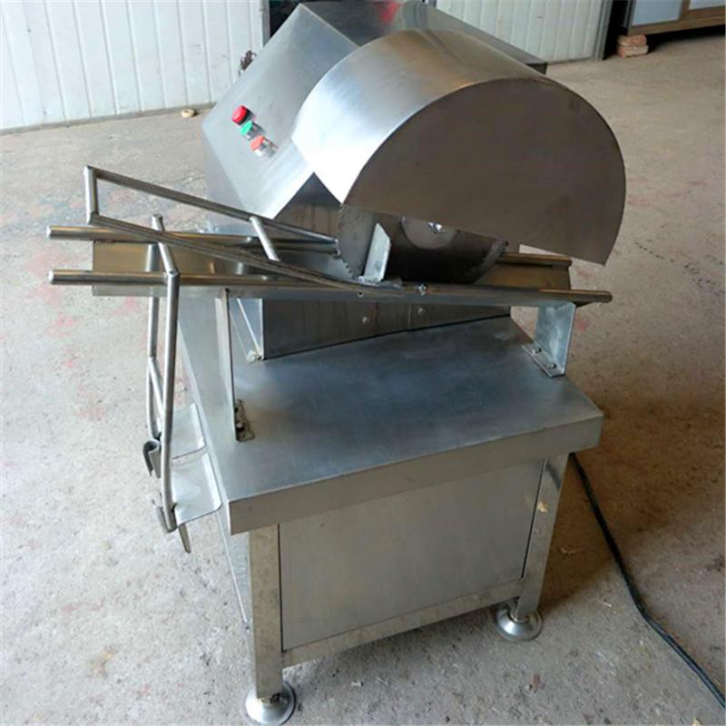 PB-250型猪爪子劈半机 手动猪蹄切割机