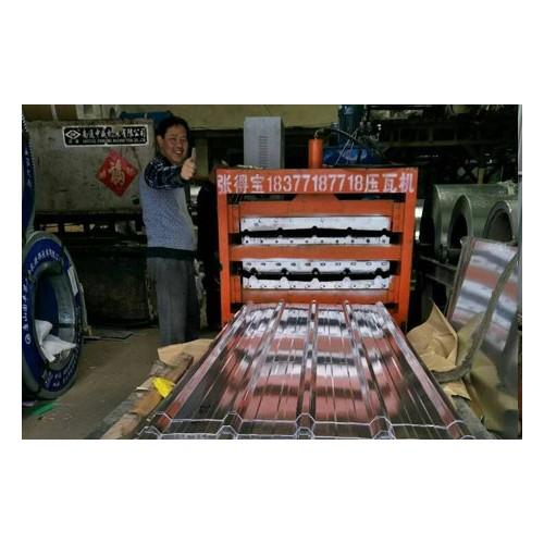 压瓦机制造厂家/张得宝压瓦机质量可靠