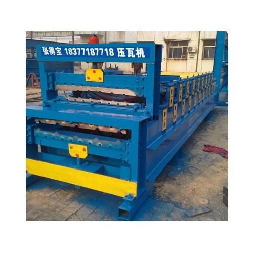 琉璃瓦设备制造厂家/张得宝压瓦机质优价廉