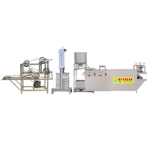 济源商用多功能豆腐皮机 小型豆腐皮机价格 豆腐皮机操作方法