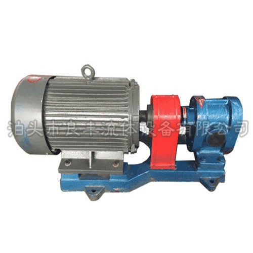 吉林齿轮油泵制造厂家|泊头良丰厂价直营可定做
