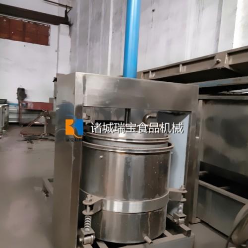 YZ-100大吨位压榨机 梅菜除水压榨机 过滤压榨机器