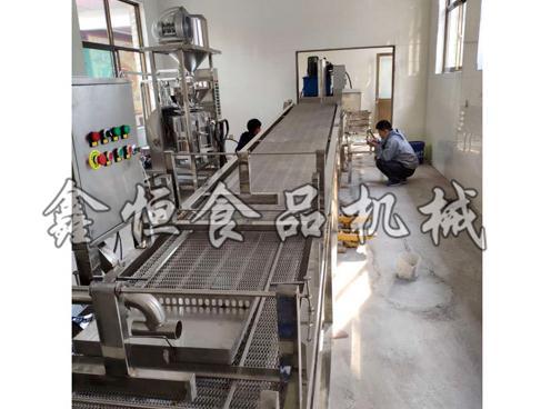 河南仿手工豆皮机现货供应/鑫恒食品机械质量保证