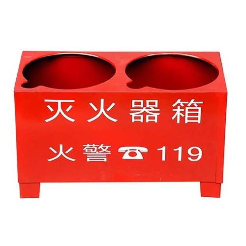 灭火器箱现货供应/阜城县世安消防器材制造有限公司质量保证