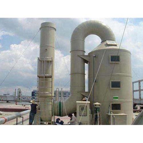 青海有机废气喷淋塔安装「绿雅环保」厂家直供现货直供