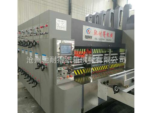 天津高速水性印刷机生产厂家/驰耐得纸箱机械实力雄厚