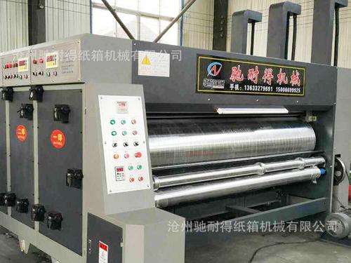 高速水性印刷机定制厂家/驰耐得纸箱机械实力雄厚