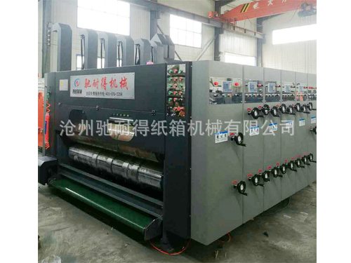 上海高速水性印刷机厂家直供/驰耐得纸箱机械性能稳定