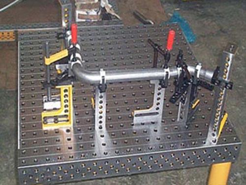 河北三维柔性焊接平台厂价直供/博君量具