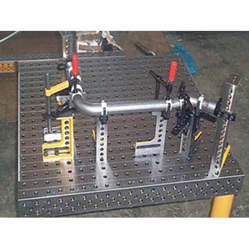 三维柔性焊接平台定做厂家/泊头市博君量具制造有限公司
