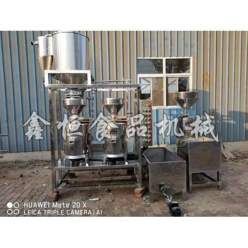 贵州豆腐机制造厂家/鑫恒食品机械加工厂质量保证