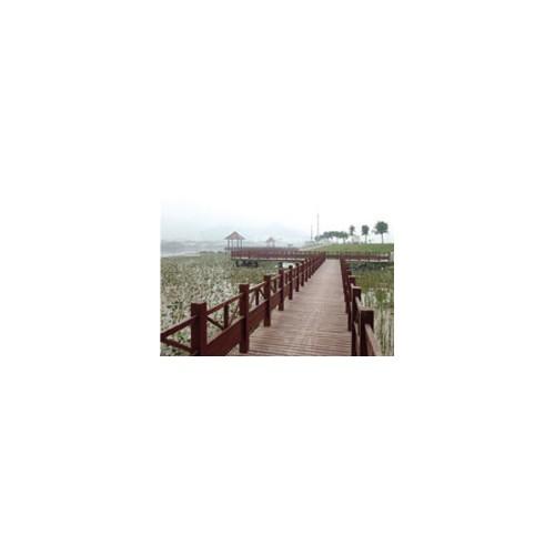 吉林环保木建筑制造_泰昌环保_直营各式环保木造景