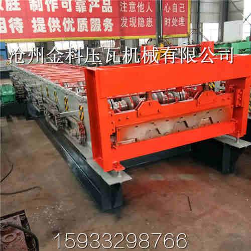 青海压瓦机生产厂家-金科压瓦机-按需订做915型楼承板机