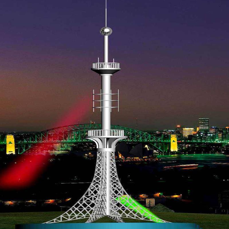 楼顶不锈钢工艺塔、装饰塔找林东专业