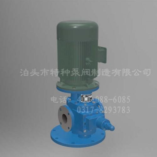 甘肃齿轮泵~泊头特种泵~YHB-LY系列立式圆弧齿轮泵