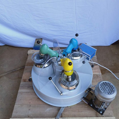 XPM120×3型三头研磨机 实验室用研磨机 小型干式粉碎机