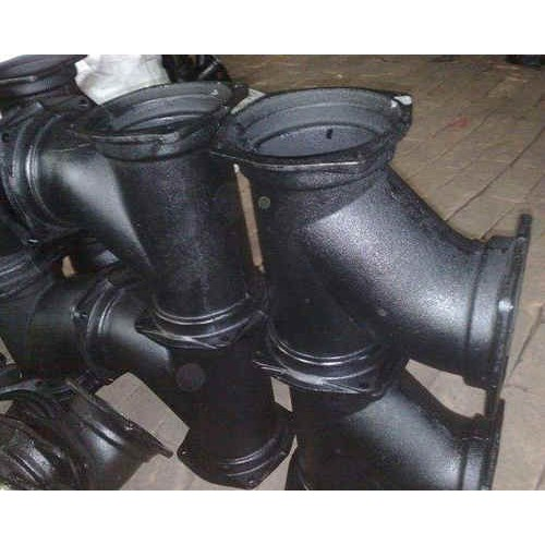 内蒙古铸铁排水管经销商/航策公司现货各种规格B型柔性铸铁管