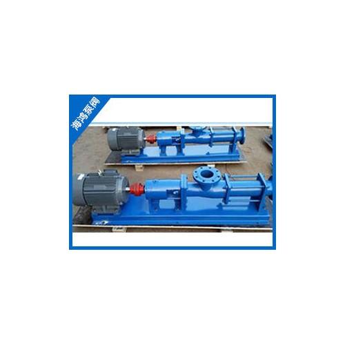 陕西单螺杆泵批发|海鸿泵业|厂家零售G型单螺杆泵