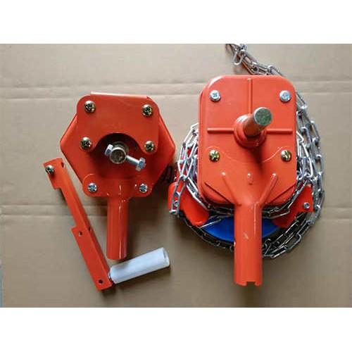 吉林温室配件公司-卓越温室-厂家供应手动卷膜器